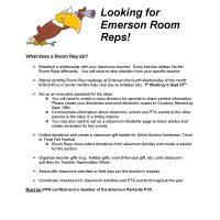Room Reps