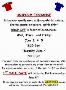 Uniform Exchange Flyer
